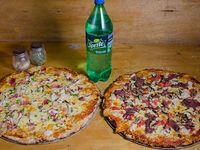 Promo - 2 pizzas extra familiares + bebida 1.5 L