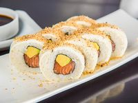 Sake cheese almond roll (8 piezas)