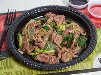 Fondo carne mongoliana