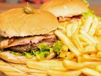 2X1 hamburguesa doble al pan - hamburguesa para dos personas