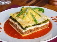 Sorrentinos de jamón y queso, lasagna o canelones
