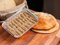 Berenjena al pan de pita