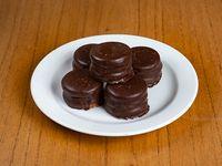 Mini alfajor de chocolate por unidad
