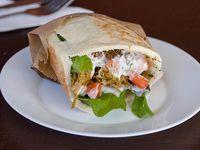 Desilachado shawarma