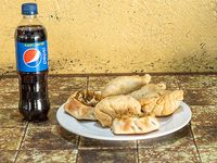 Promo 1 - 6 empanadas + gaseosa 350 ml