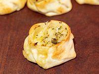Canastita de queso y cebolla