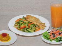 Combo Pechuga de Pollo con Verduras