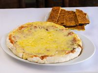 Promo 4 - Pizzeta muzzarella + 2 fainá