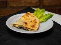 Tarta de verdura, queso y atún