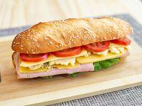 Sándwich 4 quesos