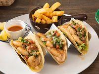 Tacos de camarón (3 unidades)