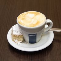 Café espresso panna