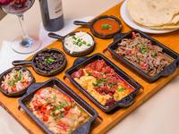 Picada mexicana (para tres o cuatro)