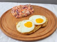 Milanesa Eggs + guarnición