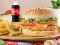 Promo Hamburguesa de Pollo 20% Descuento