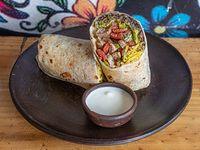 Burrito puerco chipotle