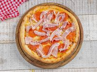 Pizza 3 carnes mediana