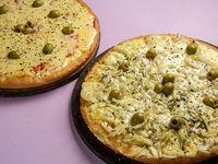 Promo - Pizza muzzarella + pizza fugazztea