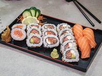 Combinado kame - 16 piezas de sushi de salmón
