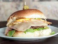 Hamburguesa Completa Al Pan