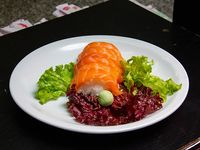 Nigiri de salmón ahumado