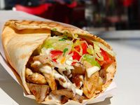 Shawarma de Pollo y Tocineta