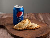 Para 1 - 2 Empanadas + Pepsi Lata