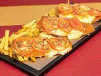Promoción - 3 Milanesas a la napolitana + Papas fritas +Bebida 1.5 L