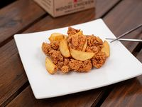 Caja Pequeña - Pollo frito crispy con papas fritas