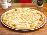 01 - Pizza muzzarella