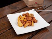 Caja Pequeña - Pollo frito crispy con salsa soja especiada y papas fritas