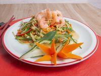 42 - Chop suey de camarones