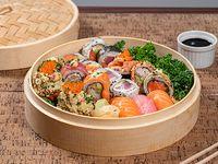 Combinado 7 -24 piezas tempurizadas -hot roll-