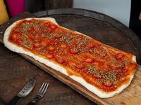 1/2 metro de pizza con gusto