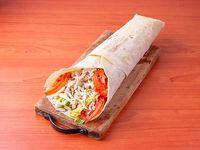 Shawarma de pollo al pan 32cm
