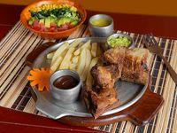 Costillas de Cerdo con Salsa BBQ