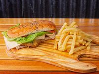Sándwich de milanesa full