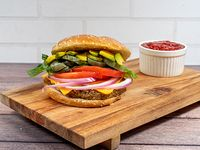 Weekends veggie burger