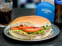 Sándwich súper hamburguesa