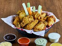 Wings / Boneless (32 Unidades) + 8 Salsas