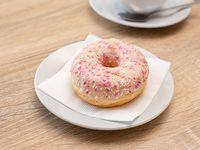 Donut glaseada blanca