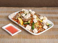 Arroz Vegetariano con Queso Tofu Para 3 Personas