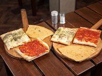 Promo - 2 pizzas + 2 pizzas muzzarella + 2 fainá