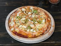 Pizza con palmito (personal)