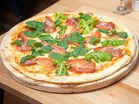 Pizzeta con bondiola