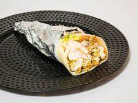 Shawarma de falafel vegetariano