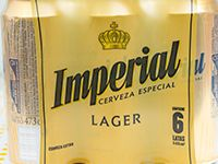 Cerveza Imperial 500 ml pack 6 unidades