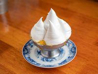 Crema con merengue