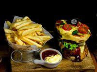Capresse burger
