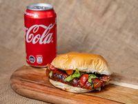 Combo - Chorizo al pan + lata de coca